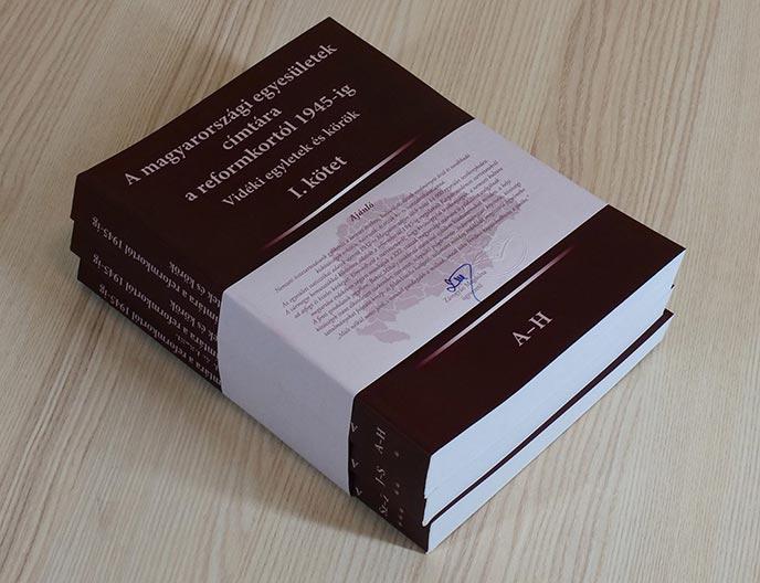 A magyarországi egyesületek címtára a reformkortól 1945-ig (puha fedelű)