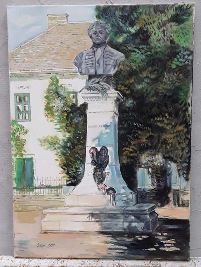 Gyula - olajfestmény